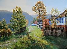 Joyful Morning - oil, canvas