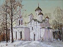 Kolomna, Moscow - oil, canvas