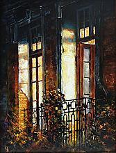 Windows - oil, canvas