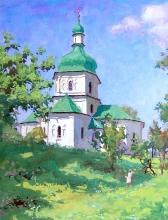 Summer. Noon At Sednevo - gouache, tempera